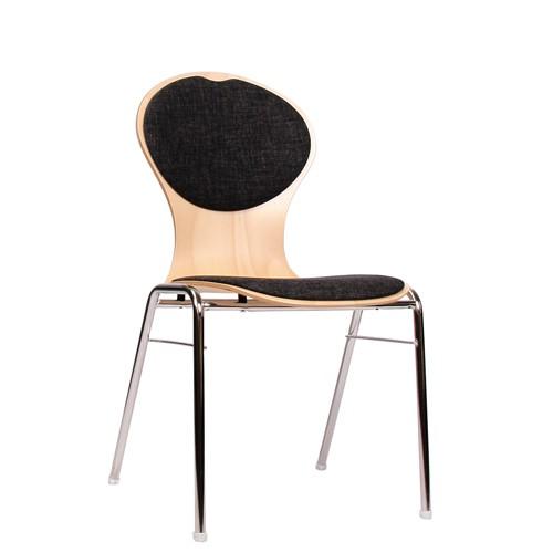 Stuhl für Konferenzraum   Saalbestuhlung COMBISIT A10 SRP, Sitz und Rückenlehne gepolstert