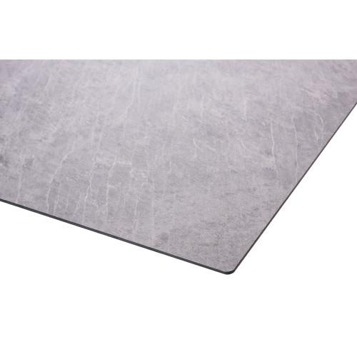 HPL-Kompakt-Tischplatte - Industrial-Design Betonoptik grau