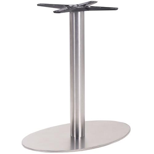 Tischgestell oval | Tischsäule PRATO IX mit ovaler Grundplatte