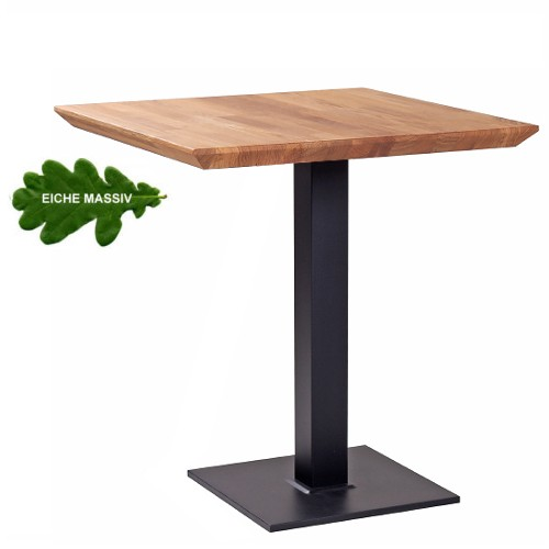 Tisch PADUA Eiche schräge Kante