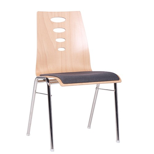 Stuhl Wartebereich | Wartezimmerstühle stapelbar, Sitz gepolstert
