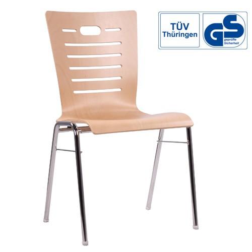 Schalenstuhl | Stuhl für Konferenzen und Seminaren GS Geprüft