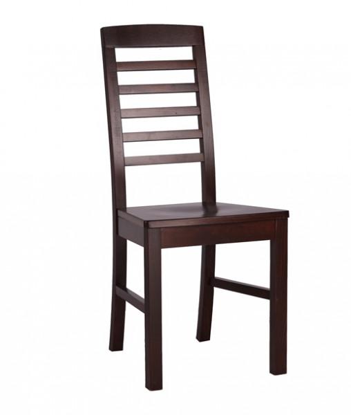 Restaurantstuhl Wirtshausstuhl mit Holzsitz