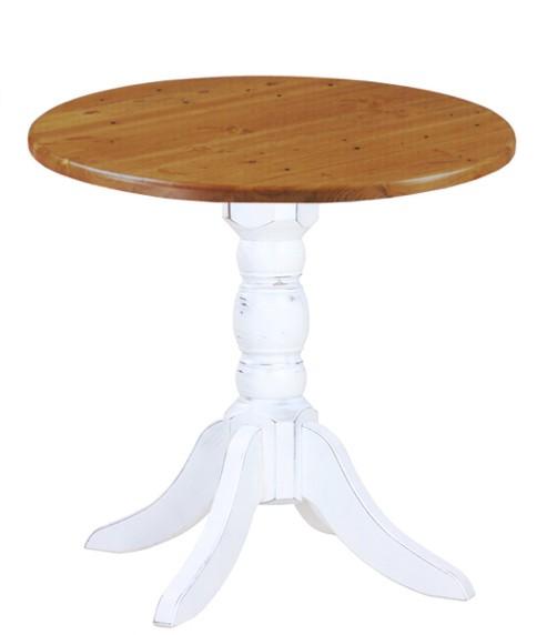 Holztisch ALDO V - im Vintage-Look
