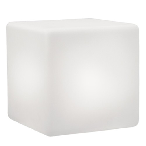 CUBO LED beleuchteter Sitzwürfel (40x40 cm)