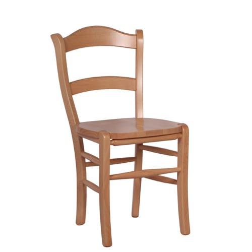 rustikale Stühle | Massivholzstühle MARO in Buche natur
