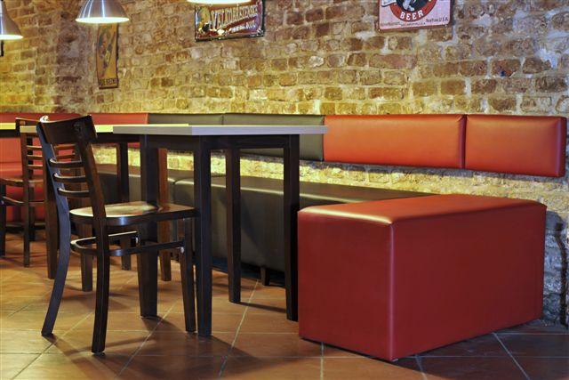 Elegant Sitzbank Gepolstert Mit Lehne Bild Von Wohndesign Dekorativ