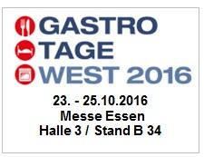 Gastrotage West 2016
